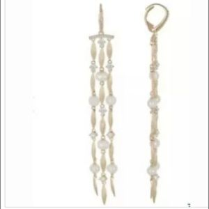Nadri Lanai Fringe 5mm Freshwater Pearl Earrings